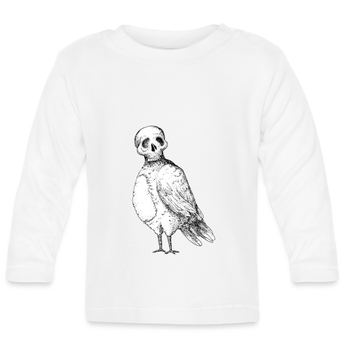 skull bird White alpha - T-shirt manches longues Bébé