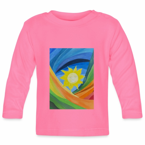 lachende-sonne - Baby Langarmshirt