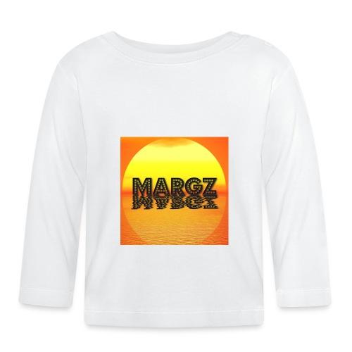 Sunset over Margz - Baby Long Sleeve T-Shirt