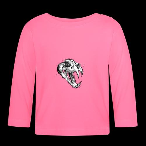 Teschio Tigre - Maglietta a manica lunga per bambini