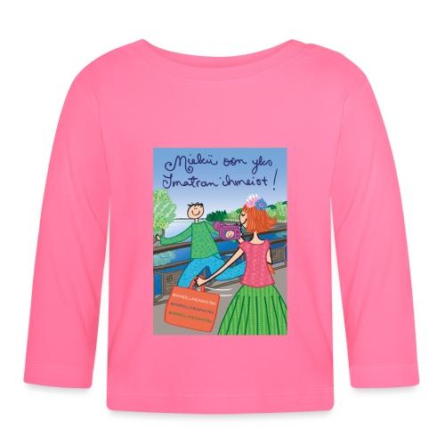Miekii oon yks Imatran Ihmeist kangaskassi - Vauvan pitkähihainen paita