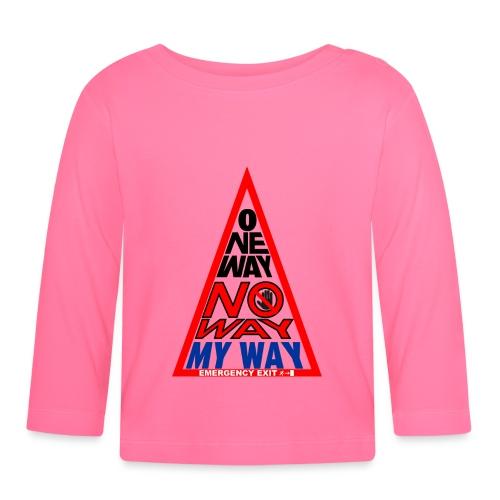 No way - Maglietta a manica lunga per bambini