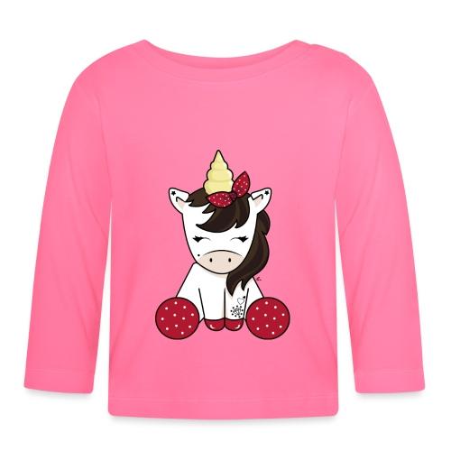 Licorne rockabilly - T-shirt manches longues Bébé