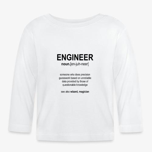 Engineer Def. 1 (Black) - T-shirt manches longues Bébé