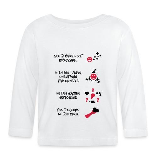 4 toltèques - T-shirt manches longues Bébé