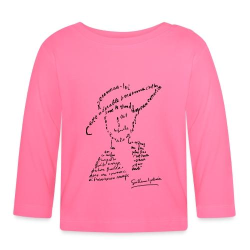 calligramme - Lou au chapeau - T-shirt manches longues Bébé