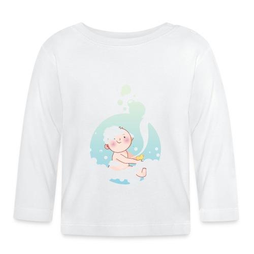 Umstandsmode T-Shirt mit Motiv - Baby Langarmshirt