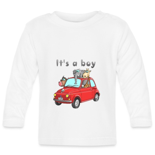 It's a boy - Baby - Cartoon - lustig - Baby Langarmshirt