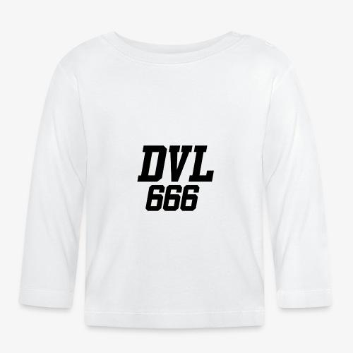 DVL666 - Camiseta manga larga bebé
