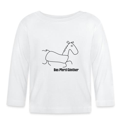 Das Pferd Günther - Baby Langarmshirt