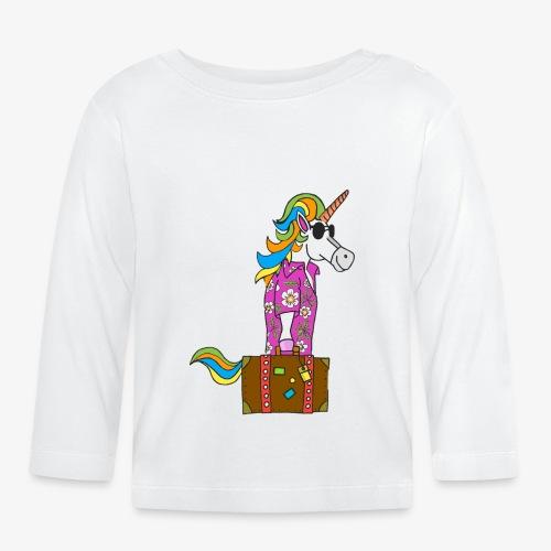 Unicorn trip - T-shirt manches longues Bébé