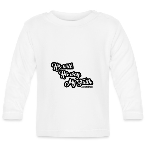 Way Will Faith Art Tee - Baby Langarmshirt