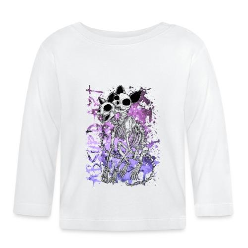 Knochentierchen Katze von Absurd ART - Baby Langarmshirt