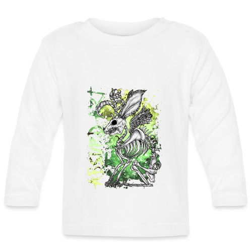 Knochentierchen Wolpertinger von Absurd ART - Baby Langarmshirt
