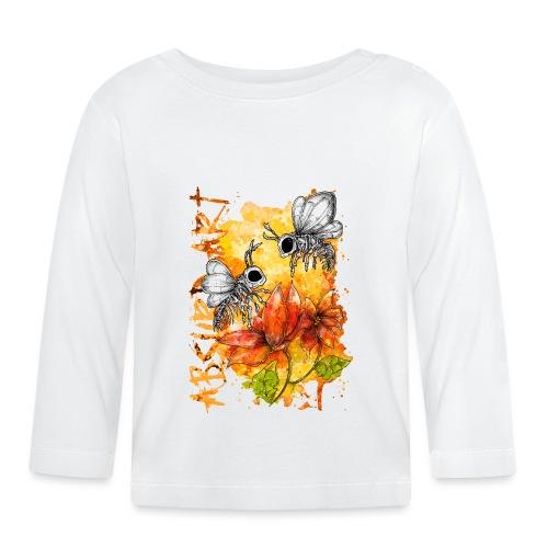 Knochentierchen Bienen - Baby Langarmshirt