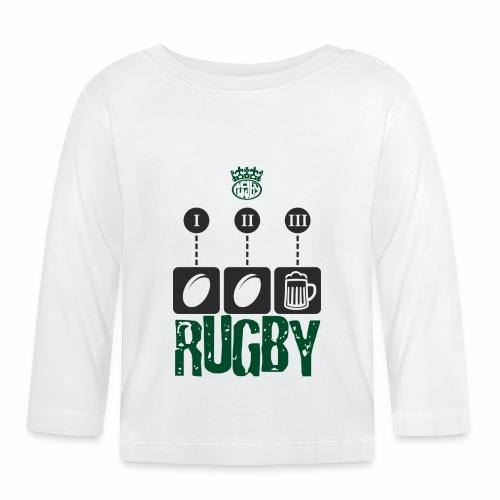 rugby - Maglietta a manica lunga per bambini