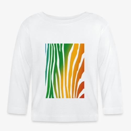 zebralong png - Långärmad T-shirt baby