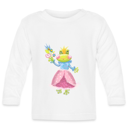 Prinzessin Frosch - Baby Langarmshirt
