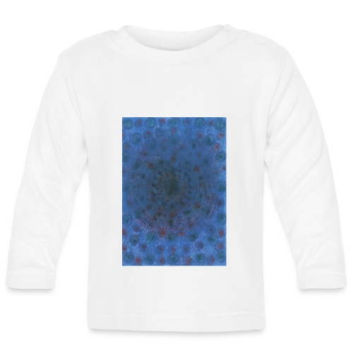 Blue Sky - Koszulka niemowlęca z długim rękawem