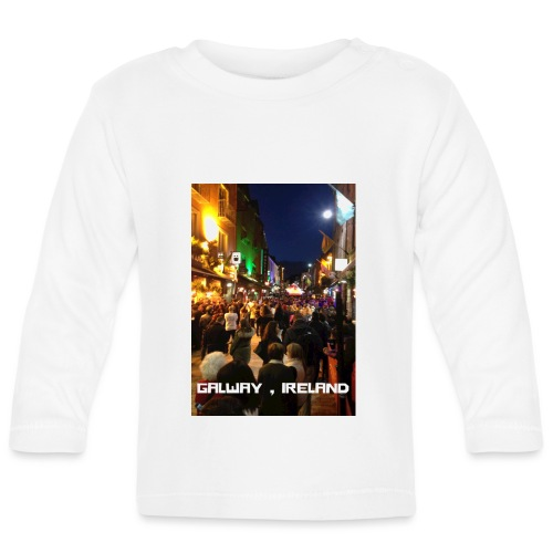 GALWAY IRELAND SHOP STREET - Baby Long Sleeve T-Shirt