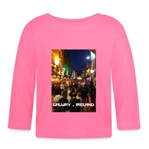 GALWAY IRELAND SHOP STREET - Baby Long Sleeve T-Shirt