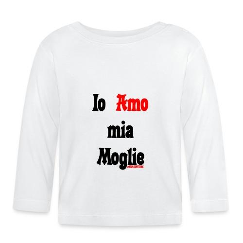 Amore #FRASIMTIME - Maglietta a manica lunga per bambini