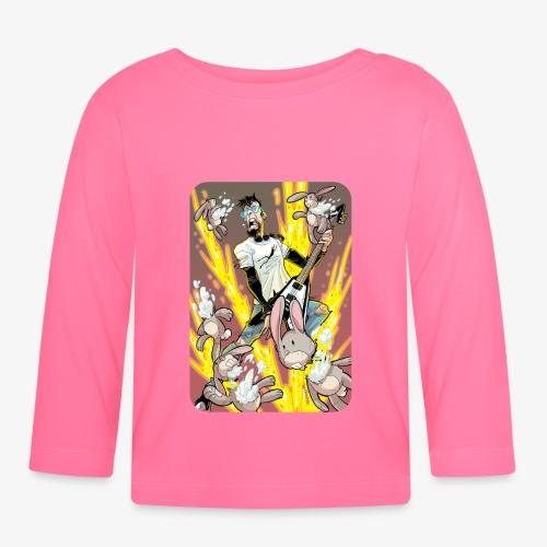 Leo Rock Bunny - Langarmet baby-T-skjorte