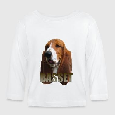 Basset - Langarmet baby-T-skjorte