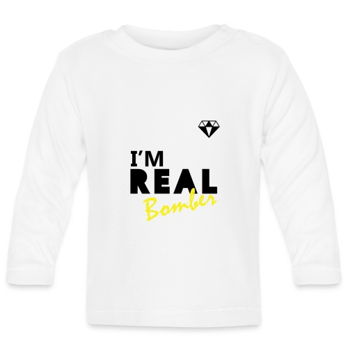 REAL Bomber - Maglietta a manica lunga per bambini