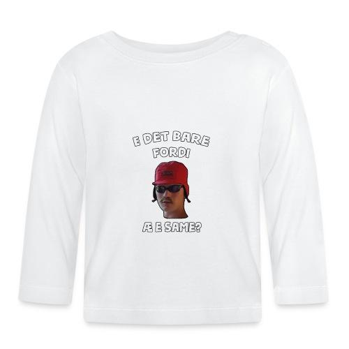 Sameskjorta - Langarmet baby-T-skjorte