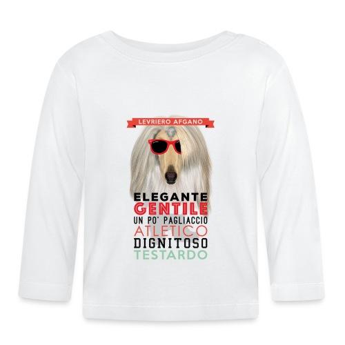 01_LEVRIERO_AFGANO - Maglietta a manica lunga per bambini