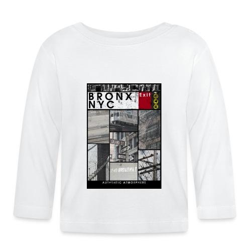 Bronx Nyc - Vauvan pitkähihainen paita