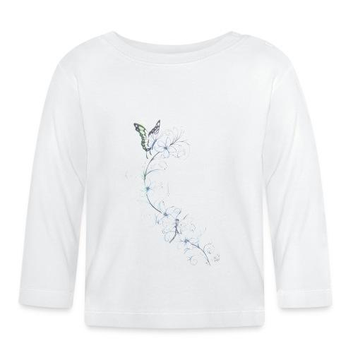 belleza de la naturaleza - Camiseta manga larga bebé