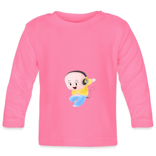 DJ ME - Maglietta a manica lunga per bambini