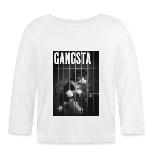Gangsta cat - T-shirt manches longues Bébé