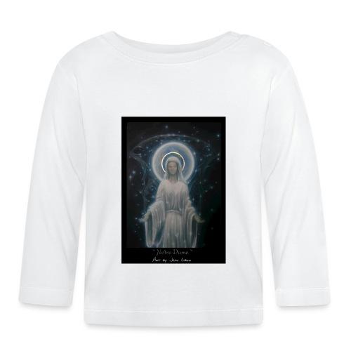 圣母玛利亚 Notre Dame by Jean Libon - T-shirt manches longues Bébé