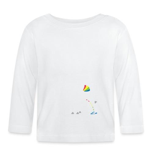 Dru - bunt pinkeln - Baby Langarmshirt