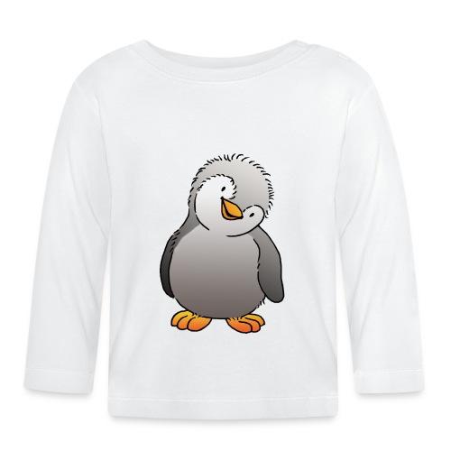 Pinguin Felix - Baby Langarmshirt