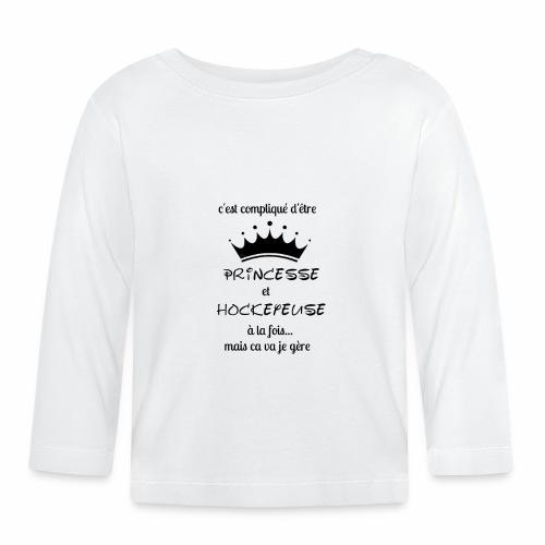Princesse et Hockeyeuse - T-shirt manches longues Bébé
