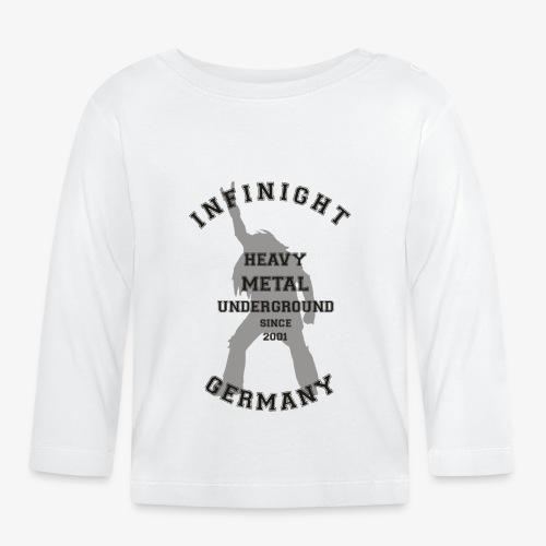 Infinight College headbanger dark - Baby Langarmshirt