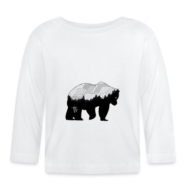 Geometric Mountain Bear