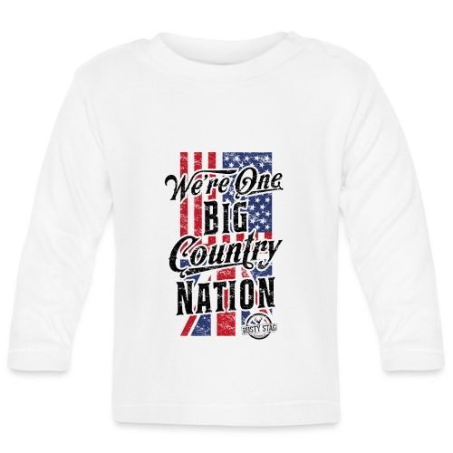 Country Nation Ladies Scoop Tee - Baby Long Sleeve T-Shirt