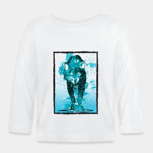 WOLF - Koszulka niemowlęca z długim rękawem