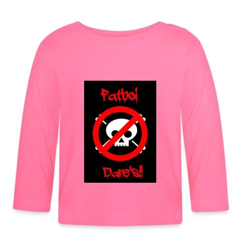 Fatboi Dares's logo - Baby Long Sleeve T-Shirt