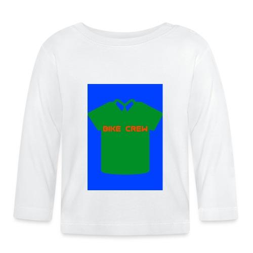 Bike Crew Merch (grün) - Baby Langarmshirt