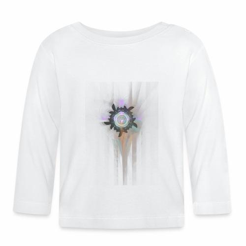 Mandala fraktaali - Vauvan pitkähihainen paita