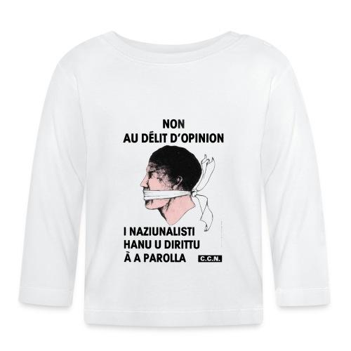 délit opinion - T-shirt manches longues Bébé