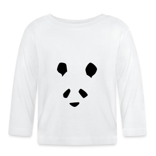 Simple Panda - Baby Long Sleeve T-Shirt