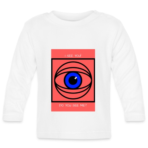 I SEE YOU! DO YOU SEE ME? - Långärmad T-shirt baby