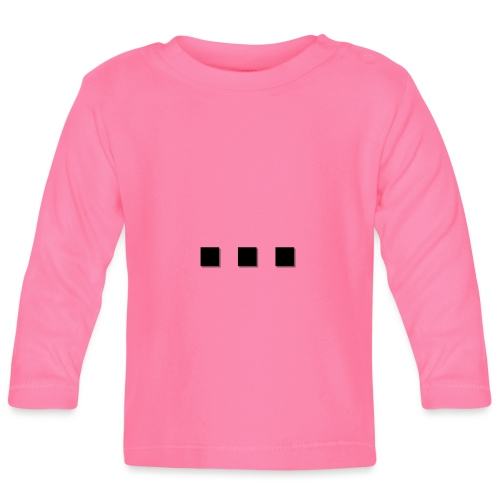 puntpuntpunt shadow - Baby Long Sleeve T-Shirt